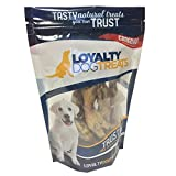 LoyaltyDogTreats LCF114 All Natural Canadian Dehydrated Chicken Feet, 114g Bag