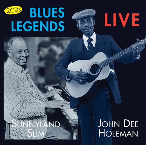 Blues Legends Live by Mapleshade Records
