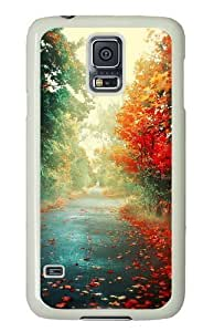 Rosesea Custom Personalized Trees Autumn PC case Cover for Samsung S5 and Samsung Galaxy S5 wangjiang maoyi