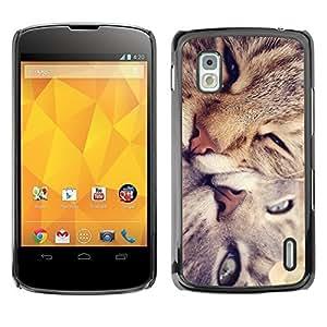 YOYO Slim PC / Aluminium Case Cover Armor Shell Portection //Cute Cat Friends //LG Google Nexus 4 by icecream design