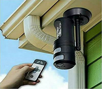 Motion Activated Security Light Outdoor Tracking Sensor Home LED Spotlight Flood Detector