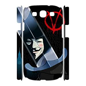 WJHSSB V for Vendetta 3 Phone 3D Case For Samsung Galaxy S3 I9300 [Pattern-2]