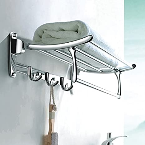 C&y accesorios de baño Set Metal-Stainless portavasos plegable de acero