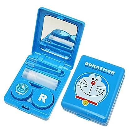 Amazon.com: Doraemon juego de funda de lentes de contacto de ...