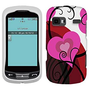 LG Freedom Red Hearts 2 On White Cover Case