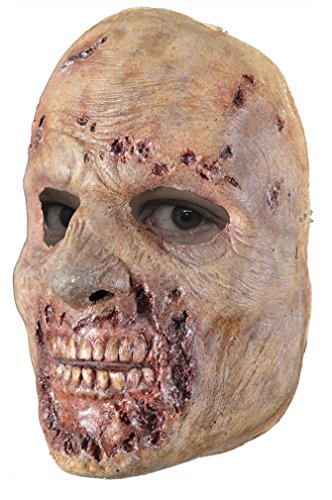 [Trick or Treat Studios Men's Walking Dead-Rotted Walker Face Mask, Multi, One Size] (Spirit Walker Costume)
