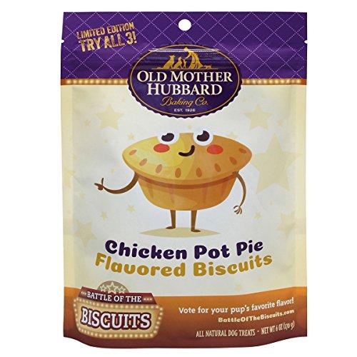 Chicken Pot Pie Dog Biscuit, 6 oz