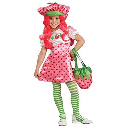 Deluxe Strawberry Shortcake Costume - Small