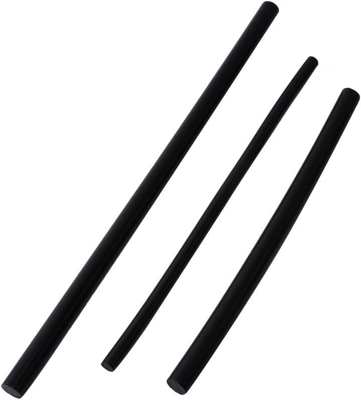 Allzweck Hei/ßkleber Schwarz Klebestift f/ür DIY Handwerk Projekte und Schnellreparaturen Hei/ßkleber Stick 10er Pack 7 * 200mm