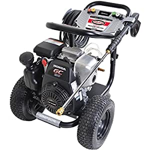 amazoncom simpson megashot  psi direct drive gas powered pressure washer mshr