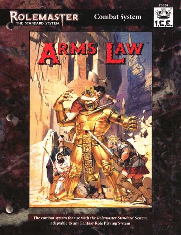 Arms Law (Rolemaster Standard - System Arm