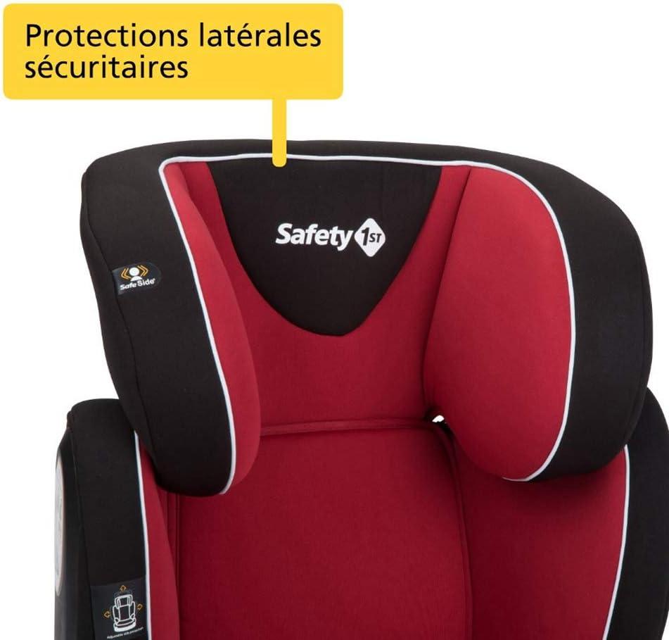 Si/ège-auto rehausseur Groupe 2//3 Safety 1st Si/ège Auto pour Enfant Road Safe 15-36 kg de 3 /à 12 ans Full Black