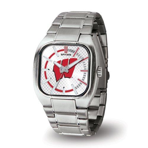 NCAA Wisconsin Badgers Turbo Watch, Silver