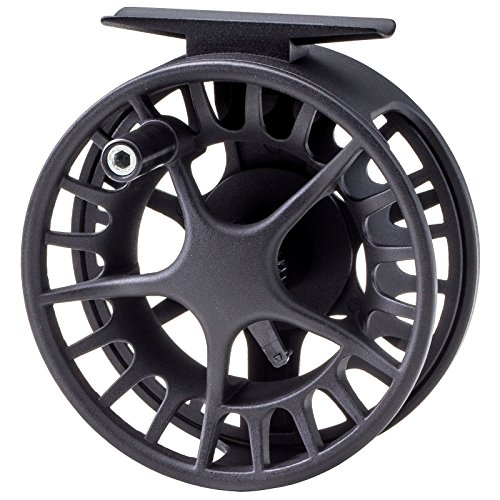 Waterworks-Lamson Liquid Fly Fishing Reel (Black, 3.5)