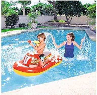 Hinchable de piscina playa montar moto de agua 140 x 84 cm bes040 ...