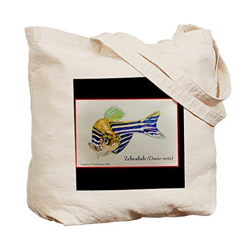 Cafepress–Rerio–Borsa di tela naturale, tessuto in iuta