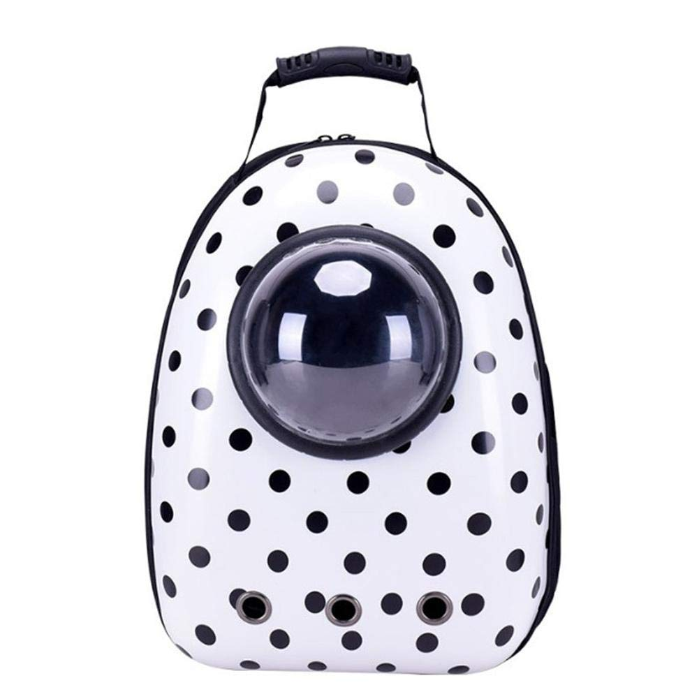 Pet PortableSpace Capsule Backpack,Traveler Knapsack Multiple Air Vents Waterproof Breathable Handbag Backpack for Cat and Small Dog