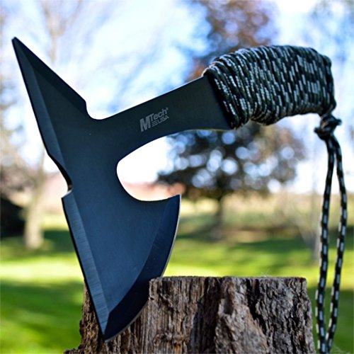 New 9″ Tactical Survival Combat Throwing Axe Hatchet Hawk Tomahawk w/Sheath