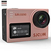 Action Camera,iDeep SJ6 LEGEND 4K Wifi Sports Action Camera 2.0 inch Touch Screen Sports Video Camera Novatek NT96660 16MP Underwater Waterproof Digital Camera