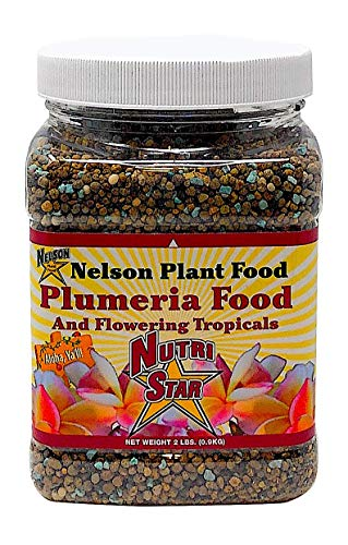 Nelson Plumeria Plant and All Flowering Tropicals Food Ferns Orchids Lilys In Ground Container Patio Grown Granular Fertilizer NutriStar 5-30-5 (2 lb) (Best Fertilizer For Tropical Plants)