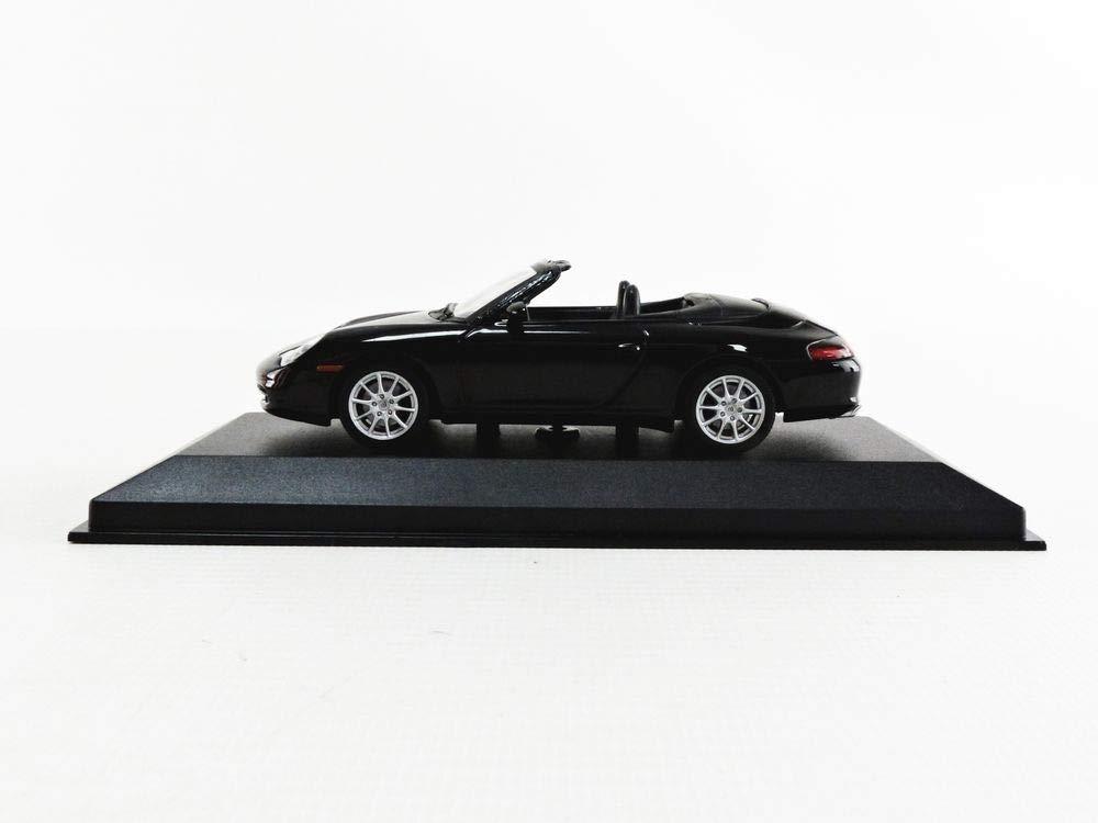 Black Metallic 2001 Modello da Collezione Porsche 911 Cabriolet 996 pauls model art gmbh Minichamps 940061030 Scala 1//43