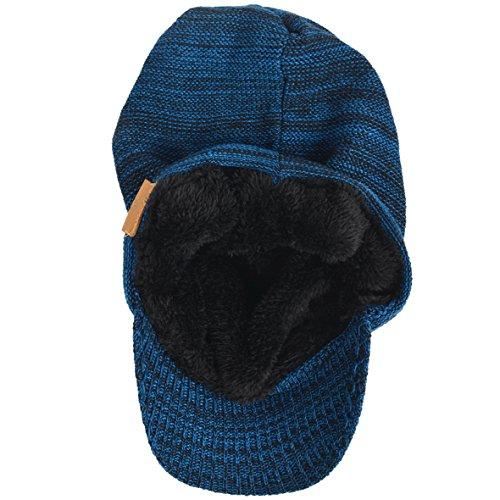 Azul HISSHE Visera para Hombre Negro wRqtTqHX