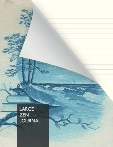 "Large Zen Journal: Yoga, Meditation Journal, Notebook | THICK! 192 pages | large (8,5"" x 11"") 