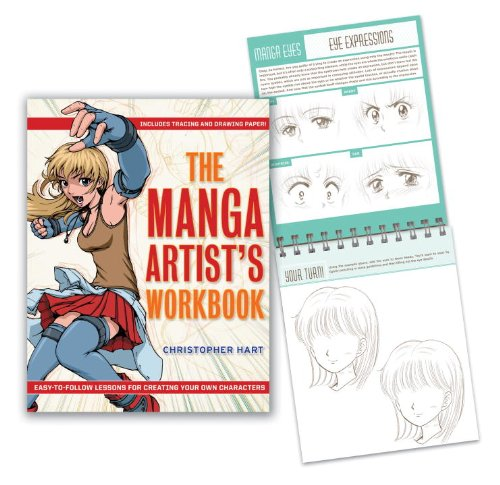 The Manga Artists Workbook  Easy To Follow Lessons For Creating Your Own Characters