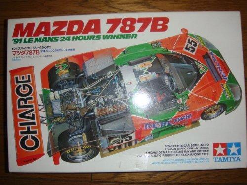 1991 Le Mans winning car 1:24 Tamiya Mazda 787B
