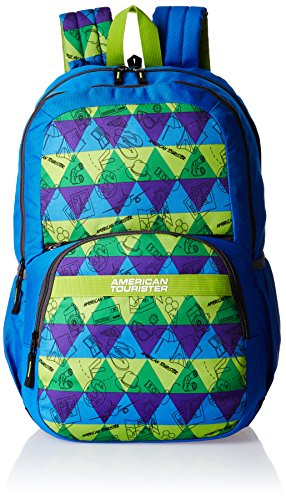 American Tourister Hashtag Blue Casual Backpack (Hashtag 01_8901836130805)