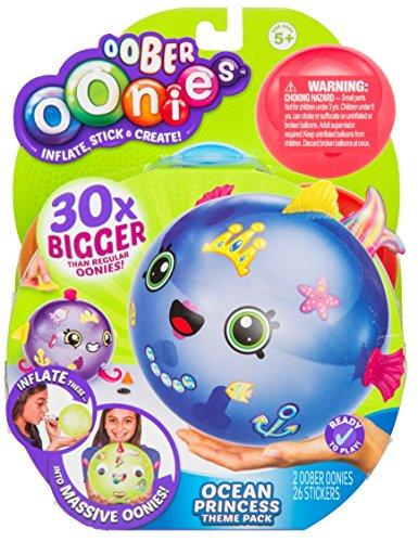 Oober Oonies Ocean Princess Theme Pack with Stick n Style Accessories. Create Oober Oonies  30 Times The Size of Regular Oonies!