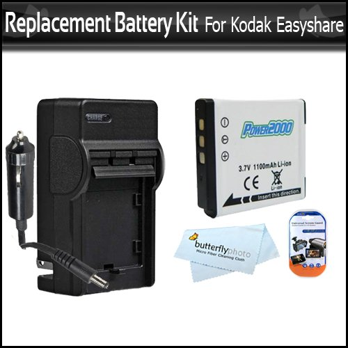Replacement Battery and Charger Kit for Kodak KLIC-7006 for Kodak EasyShare M522 M532 M552 M583 M580 M575 Digital Camera Includes Extended (1000Mah) Replacement KLIC-7006 Battery + AC/DC Charger ++