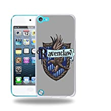 Case88 Designs Harry Potter & Hogwarts Collections Hogwarts RavenClaw Sigil Protective Snap-on Hard Back Case Cover for Apple iPod Touch 5