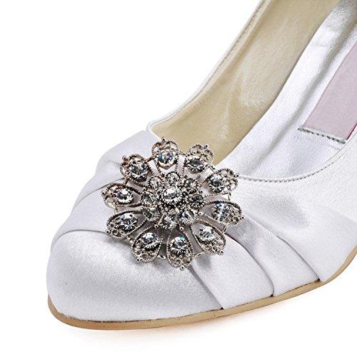 Kevin Fashion - Zapatos de boda fashion mujer Blanco - blanco