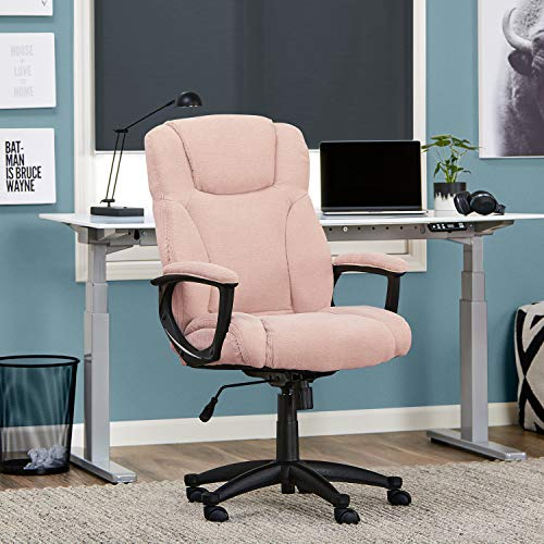 Serta Style Hannah II Office Chair, Microfiber, Pink