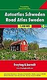 Svezia 1:400.000: Wegenatlas 1:400 000