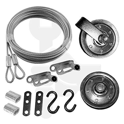 garage door pulley set - 4