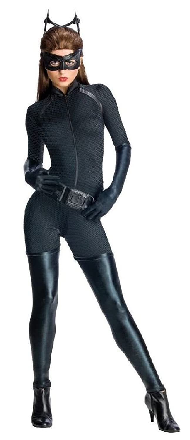 1960s Party Costumes Ponce Catwoman Costume Black Cat Suit Dark Knight Rises Cat Woman XS $111.33 AT vintagedancer.com