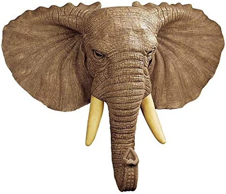 Design Toscano Lord Earl Houghton s Elephant Wall Sculp