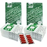 Henry Dust Bags, Multi Layer Microfibre Green