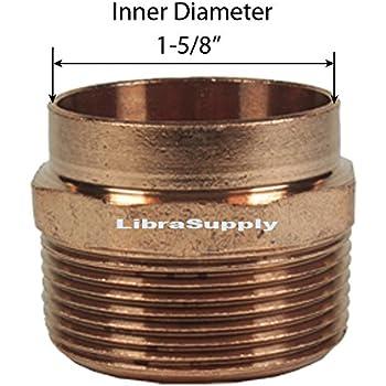10pcs Libra Supply 1 inch 1-inch 90 Degree Copper Pressure Elbow C x C 1/'/'