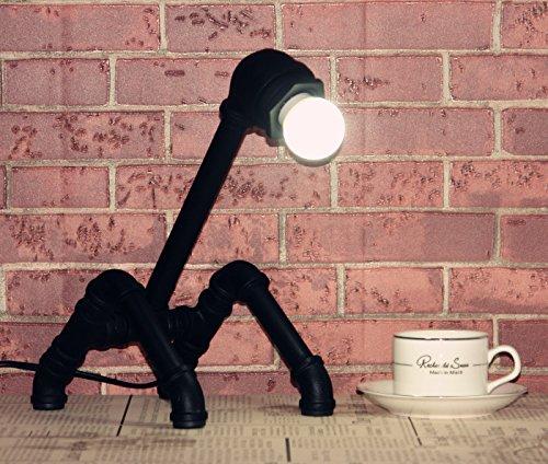 YYHAOGE Die Kreativen Stil Amerikanischer Vintage - Industrielle Lampen Lampen Lampen Geburtstagsgeschenk Inneneinrichtungsgegenstände Zieren Die Schlafzimmer, Wohnzimmer Mit Bett - Lampe,C B0752W7CVH | Hochwertig  38c857