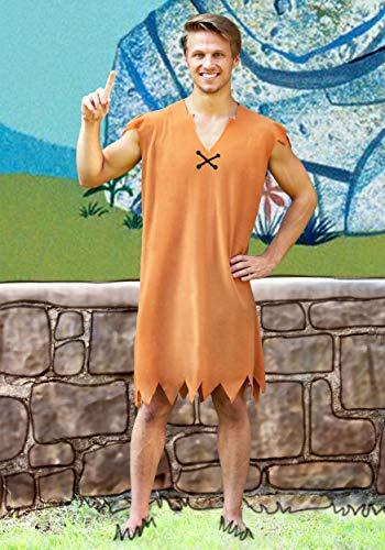 Barney Rubble Adult Costume -