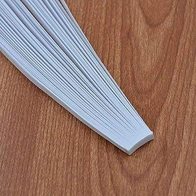52cm ODETOJOY White Quilling Paper Strips 10mm for Crafts Paper Quilling Set-120pcs 10mm