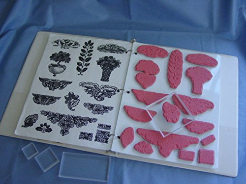 Unmounted Stamp Storage - Acrylic & Unmounted Stamp Storage - 2 Sheets CropStop