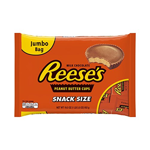 REESE'S Peanut Butter Cups, Snack Size (19.5-Ounce Bag) ()
