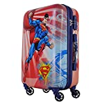GAMME Superman Kids Luggage- 20 INCHES Cabin/Hard Luggage/Travel/Kids Trolley Bag- with Two Years Warranty