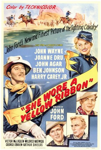 She Wore a Yellow Ribbon - Movie Poster - 27 x 40
