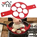 RAYINA Pancake Maker Nonstick Cooking Tool Egg Ring Maker Pancakes Cheese Egg Cooker Pan Flip Eggs Mold Kitchen Baking Accessories