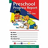 Pack of 80 Preschool Progress Reports for 4 year olds